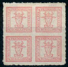 Mecklenburg-Schwerin,Mi.-Nr.5a(*), fein geripptes Papier, pracht