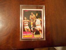 1981-82 TOPPS BASKETBALL CARD #21 MAGIC JOHNSON NICE CARD