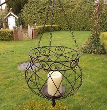 jardin chandelier FEUX suspension pour fleurs style rustique ancien