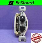 💡 Vintage Push Button Light Switch, Single-Pole ON/OFF Porcelain, GE - Made USA
