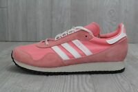 30 New Mens Adidas Originals New York Shoes Salmon Tan White BY9341 9.5-11.5