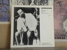 "LESTER BOWIE, RIOS NEGROES - PROMO 12"" SINGLE PRO-A-1020"