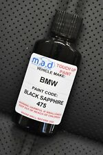 Para BMW 475 Negro Sapphire Kit de Retoque de Pintura 30ml 1 3 5 7 8 Series Chip