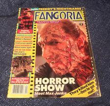 FANGORIA Horror Magazine #81 1989 Freddy's Nightmares Toxic Avenger II