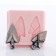 Arrow Head Silicone Mold - Polymer Clay, Metal Clay, Resin - Food Safe   (954)