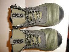 NIKE ACG GREEN RUBBER BOOT SNEAKER MENS SHOE SIZE 4 / EURO 36