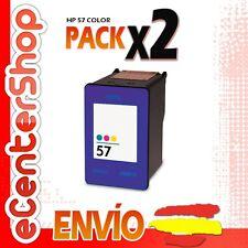 2 Cartuchos Tinta Color HP 57XL Reman HP Deskjet F4180