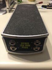 Ernie Ball Stereo volume pedal.