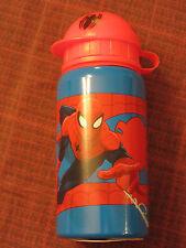 Disney Aluminum Water Sports Bottle Spiderman