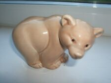 POOL POTTERY ENGLAND BEAR LOOKING RIGHT HAND SIDE