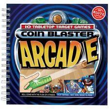 KLUTZ COIN BLASTER ARCADE - 10 TABLETOP TARGET GAMES KIDS BOOK & ACTIVITY KIT