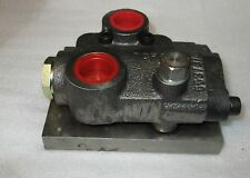 TCF6  Hydraulic Valve Body Casting Part No:553/3/09809