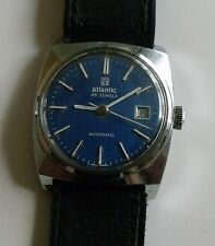 "VINTAGE ""ATLANTIC""-25J-LADY,S-AUTO  SWISS WRIST WATCH"
