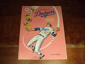 1967 LA Dodgers Yearbook Program EX+ Drysdale Fairly Ferrara Gabrielson Scully