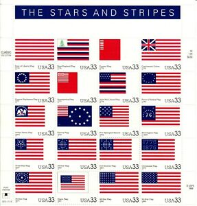 Scott 3403 33¢ The Stars and Stripes MNH Free shipping in USA