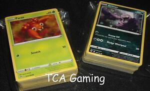 Complete HOLO RARE/UNCOMMON/COMMON SWSH Darkness Ablaze 155 Card Set NM Pokemon