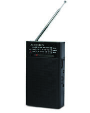 Portable AM/FM/SW Band Radio with Built-In Speaker and Headphone Jack
