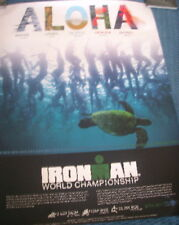 Kona World Championship Ironman Triathlon Poster 2017