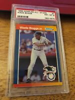 1989 DONRUSS ALL-STAR#7 WADE BOGGS GRADED A 8 BY PSA