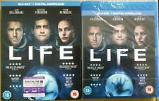 LIFE (BLU-RAY + ULTRAVIOLET 2017) JAKE GYLLENHAAL *NEW & SEALED WITH SLIPCOVER*
