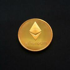 Ethereum Coin Gold Coins Commemorative Coin Collection Souvenir Gift New