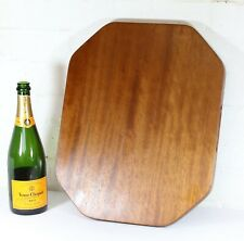 A Vintage Retro Teak Serving Board Cheese Platter Deli Tray 1970s G-Plan era