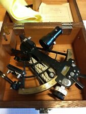 SEXTANT by ZUIHO Optical Instruments Co. JAPAN with Wood Case NO. 75217