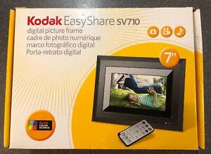 "BRAND NEW Kodak EASYSHARE SV710 7"" DIGITAL PICTURE FRAME KODAK COLOR SCIENCE"