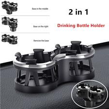 1*Car Cup Holder Drinking Bottle Bracket Organizer Storage Box Adjustable 2 in 1