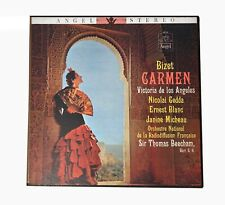 Bizet CARMEN 1958 Sir Thomas Beecham Angel 3613 3 LP Box Set M/VG++