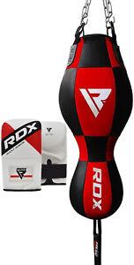 RDX Saco boxeo Bolsa Ponche Guantes Arena Punching MMA Lucha Gancho ES