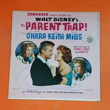PARENT TRAP / CAMARATA conducts Walt Disney MONO BV3309 LP Vinyl VG++ Cover VG+