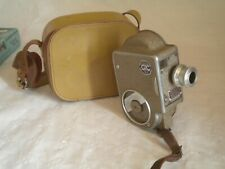 GIC 9.5mm Clockwork movie camera and case french 1950 cinor b 1:1.9 berthiot len