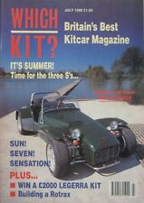 Which Kit? magazine 07/1990 featuring Pilgrim, RM Seven, Macintosh M1, Tornado