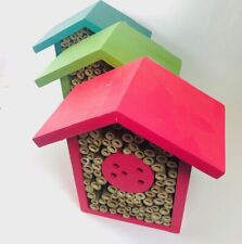 Bee Habitat  Evergreen Enterprises Blossoms Bee House Wood Bamboo Nesting Insect