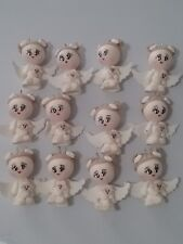 12 pcs Angel Girl White Baptism First Communion handmade Favor Migajon