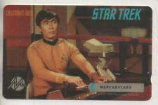 "Star Trek TOS Mercury Phonecard ""Lt. Sulu"""