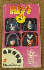 KISS VIEWMASTER BOOKLET AUCOIN 1979 + 3 BONUS GAF PROMOTIONAL SALEMAN PAMPHLETS