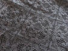 Little Black Dress Cluny Lace Cotton Fabric Festival Dress Haute Couture Vogue