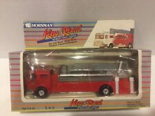 "Horsman ""King of The Road"" World Class Series Fire Truck Die Cast Metal VTG New"