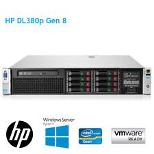HP DL380p Gen8 2x E5-2640 6 Core 2.50GHz 64GB RAM 4 x 300GB HDD P420 1GB 8 BAY
