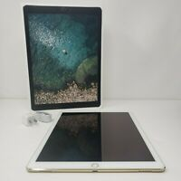 "Apple iPad Pro 12.9"" 128GB / 256GB Unlocked Tablet 1st Generation Wifi+Cellular"
