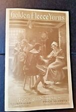 1912 booklet, Golden Fleece Yarns, book of stiches 11th edition