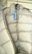 BRAND NEW W/TAG LOVELY CHAMPAGNE/ CREAM PUFFA PADDED JACKET W/DETACHABLE HOOD XL