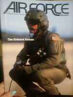 AIR FORCE MAGAZINE AUG 1992 ENLISTED AIRMAN