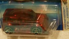 HOT WHEELS 2005  FIRST EDITIONS X-RAYCERS #3/10 w/Faster Than Ever SCION XB  Red