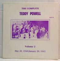 The Complete Teddy Powell Vol 2 - US vinyl LP AJAZZ 408
