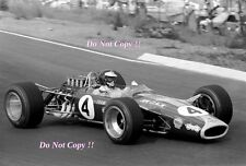 Jim Clark Lotus 49 Winner South African Grand Prix 1968 Photograph 4