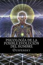 Psicología de la Posible Evolución Del Hombre by Ouspensky (2016, Paperback)
