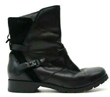 New Teva Womens Black Zipper De La Vina Hiking Outdoor Boots Size US 8.5 EU 39.5